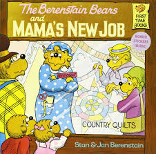 the berenstain bears and mama s new job stan berenstain jan the berenstain bears and mama s new job stan berenstain jan berenstain 9780394868813 amazon com books