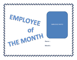 Employee Of The Month Certificate Templates Tag Employee Of The Month Printable Certificate Custom Personalized