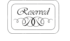 Templates For Signs Free Reserve Table Signs Template Free Printable Reserved