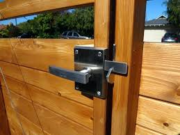 dog proof door handle best gate latch ideas on locks custom gates wooden
