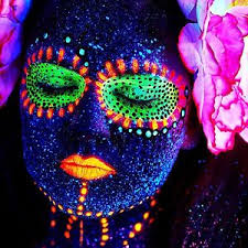 image is loading glow party uv blacklight glow paint face body