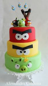 4ecf4910d7e0ec3bc65ea4e49d a angry birds birthday cake angry birds cake