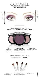 COLORFUL: <b>Purple</b> Matte 2 HOW TO #<b>sephoracollection</b> #sephora ...