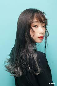モード ロング オルチャンtanpopo Hair In 韓国 韓国のゴヨンジュ