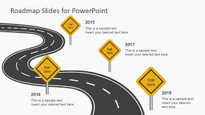 road map powerpoint template free free roadmap slides for powerpoint slidemodel