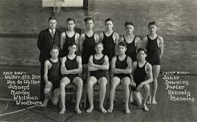 Ypsilanti Historical Society Photo Archives: 1928 Roosevelt High School  Swim Team