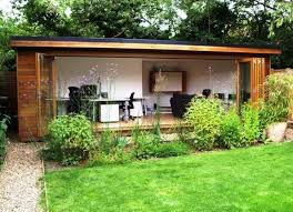 garden office designs interior ideas. long end of garden studio house architects radlett london find this pin and more on domicile dcor office designs interior ideas