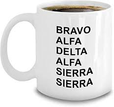 Gimson's phonemic system with a few. Amazon Com Aviation Phonetic Alphabet Mug Funny Military Code Gift Bravo Alpha Delta Sierra Kitchen Dining