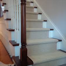 sisal carpet runner for stairs with border american traditional staircase toronto by rizmi the rug people
