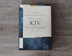 The Reformation Heritage Kjv Study Bible Hardcover