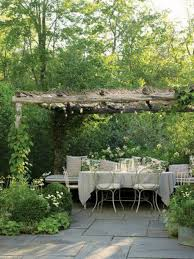 Terrace and Garden: Grape Arbor Backyard Furniture - Grape Arbor Ideas