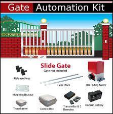 slide gate opener