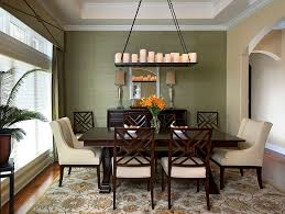 dining room takes it color scheme and cue from the lovely rug design montgomery