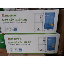 Máy sấy quần áo Kangaroo KG332 (KG-332) 4kg 1000W giá cạnh tranh