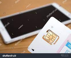 Sim Card Tablet Stock Photo (Edit Now) 1258999603