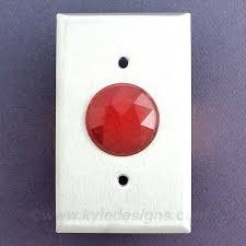 electrical cover plates. Red Outlet Covers Round Jewels For Pilot Lights On Wall Switch Cover Plates Dot Electrical Box