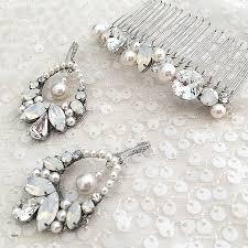 pearl chandelier earrings wedding beautiful rts chandelier statement wedding earrings white pearl
