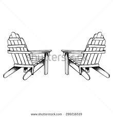 Adirondack Chair Silhouette Download This Image As Adirondack