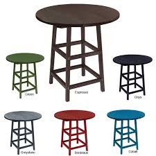 captiva collection bottlecap 32 round bar table