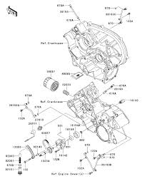 2008 kawasaki teryx 750 4x4 le krf750c oil pump oil filter parts best oem oil pump oil filter parts diagram for 2008 teryx 750 4x4 le krf750c motorcycles
