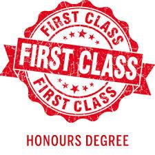 First Class Honours University Degree University Degree Honours