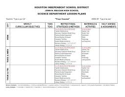 High School Lesson Plan Template Gorgeous Vocabulary Template Unique Lesson Plan Marzano Outline Word Format