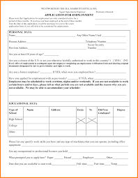 job application blank form ledger paper printable blank employment application forms