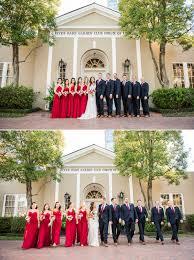 stephanie matt wedding photos by nate messarra river oaks garden club wedding bridesmaids