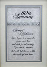 60th anniversary card