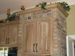 White Wash Kitchen Cabinets Homes Intended For Whitewashed Full Hd