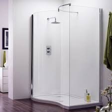 Plain Curved Shower Enclosures Uk Aegean Walkin Enclosure To Inspiration Decorating