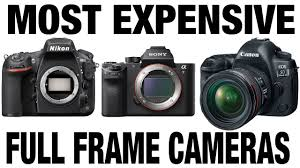 most expensive full frame camera mirrorless or dslr canon sony nikon pentax