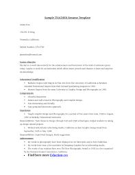 Ideas Of Sample Resume For High School Biology Teacher Resume