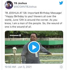 Details have emerged of how popular nigerian pastor, prophet tb joshua died. 7dh0mzo8cmgj9m