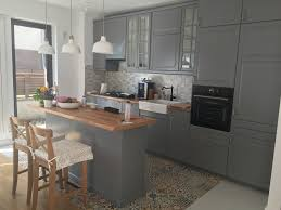 Ikea kitchen grey Metod system kitchen Pinterest