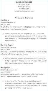 Reference Page On Resume Igniteresumes Com