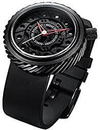 amazon co uk break watches break brand new original men black rubber strap sport fashion cool waterproof wheel design watches