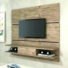 ed float shelf under mounted tv white hanging