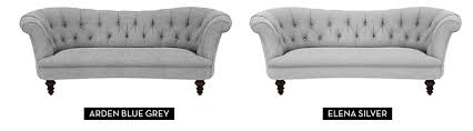 Customise Your Lovely SofaFabric Chesterfield Sofas Uk