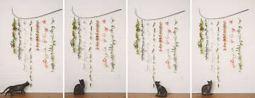 Kitchen Wall Hanging Diy Flower Garland Wall Hanging The Kitchy Kitchen