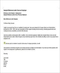 Personal Reference Sample 7 Sample Personal Recommendation Letter Free Sample