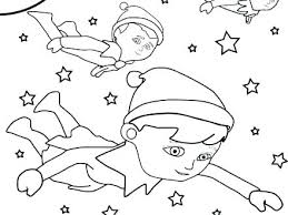 Elf On The Shelf Coloring Pages Printable Elf On The Shelf Coloring