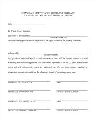 simple contract for services template sample contract templates in word building maintenance service