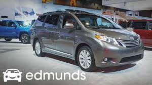 2017 Toyota Sienna Review | Features Rundown | Edmunds - YouTube