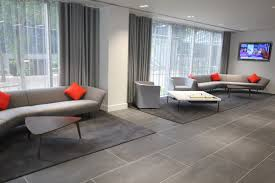 reception areas. Large Informal Reception Area With Audio-Visual - Office Design \u0026 Fit-Out Areas R