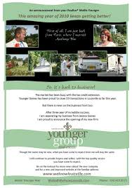 An Announcement From Mollie Younger Younger Group Real Estate