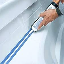 caulking tips another said i wish had seen this years ago tape before smooth out with double glue bath tub caulk