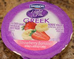 dannon light fit strawberry banana review