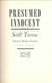 Presumed Innocent Book Lot Detail SCOTT TUROW 24 FIRST EDITION BOOK SIGNED 6