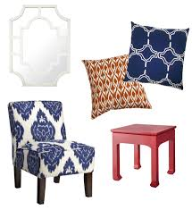blue and white accent chair. Blue And White Accent Chair Cheap Chairs With Arms For Living Room Swoop